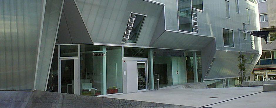 Fondeza instalaciones colegio de arquitectos de vigo - Arquitectos vigo ...